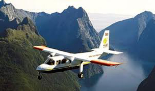 Fiordland scenic flight